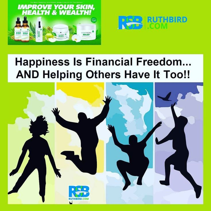 Happiness is financial freedom... and helping others  have it too.  Freedom Opportunity Financial Rewards  This is what we dream about plan about and work towards!  We can experience this together it IS possible.  The Action To Take? It's simpleBe A Part Of The New & Emerging $7.1 Billion Dollar CBD Industry ... You can sign up here and take a free tour for a home business!  http://ift.tt/2yAUYT7