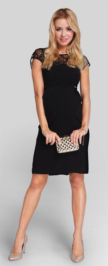 elegant, feminine and very comfortable smart maternity dress