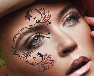 Airbrush Makeup Stencils