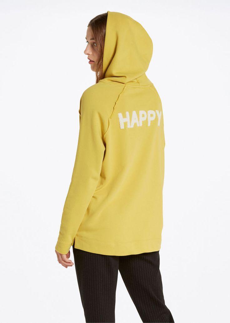 MARC O'POLO, Damen, Bekleidung, Langarm / Sweater, Kapuzen-Sweatshirt, aus reiner Baumwolle