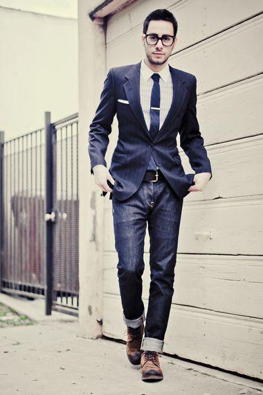 guy stylin'