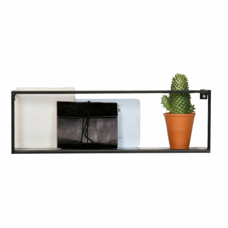 A wall shelf is fun as a decoration object or to put your stuff. Empty spaces can be filled so that the wall is no longer bald. This wall shelf guts collections