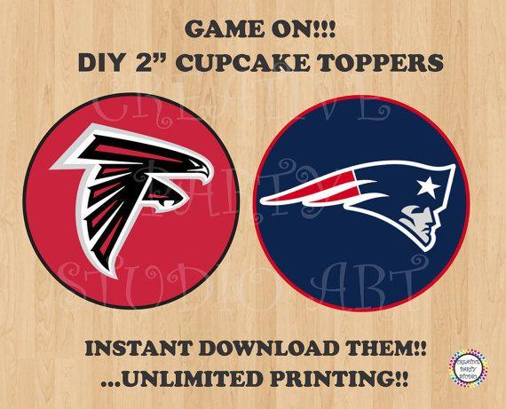 Superbowl  Falcons Vs Patriots Cake Pics