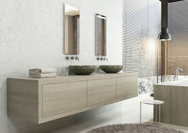 De nieuwe badmeubellijn Momentum van H&R Badmeubelen & Sanitair wordt gekenmerkt door een super strak design en past perfect binnen de moderne badkamer. Met prachtige waskommen.