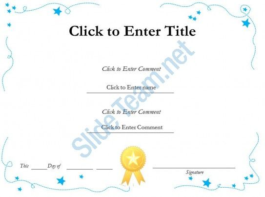25 Best Ideas About Certificate Of Recognition Template