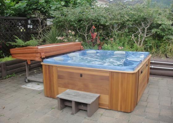 Spa pool area