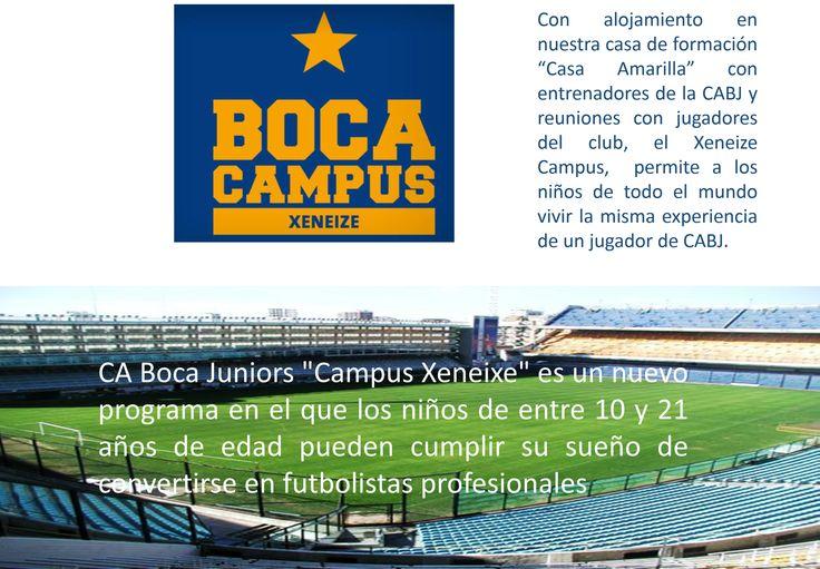 es posible hacer realidad tu sueño. Boca Juniors tiene la combinación perfecta entre futbol, turismo y diversión!