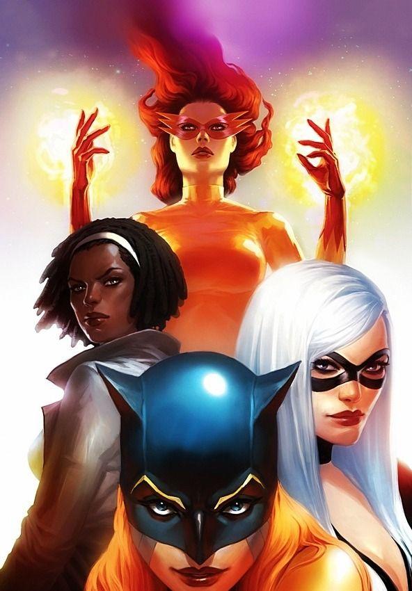 792 Best Female Super Heros  Villains Images On Pinterest -1431