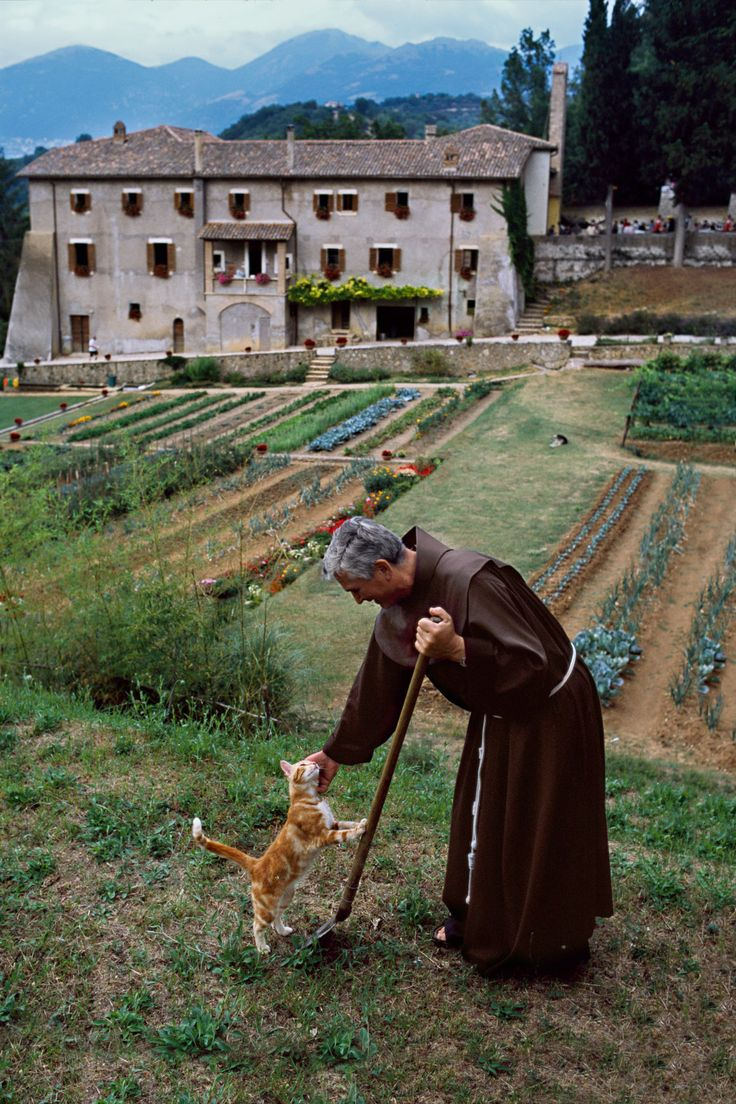 """Steve McCurry -Cammino di San Francesco  Italy - """"The St Francis Way takes an ancient Roman road between Florence and Rome following in the footsteps of Saint Francis across stunning and peaceful countryside, passing important Franciscan sites such as Assisi and Rieti, in Umbria. The Cammino di Francesco or St Francis Way finishes at the Vatican and has been followed by many pilgrims inspired by the life St Francis of Assisi."""""""