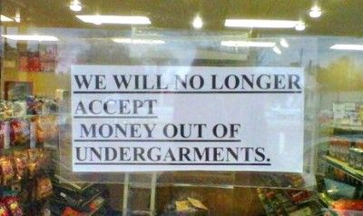 10 inexplicable signs you'll really wish you knew the backstory behind.
