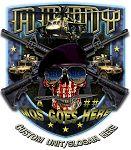 Army MOS Skull Shield Military Shirt $19.95