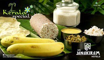 Puttu Kadala Curry - One of the glories of Kerala's Popular traditional cuisine.