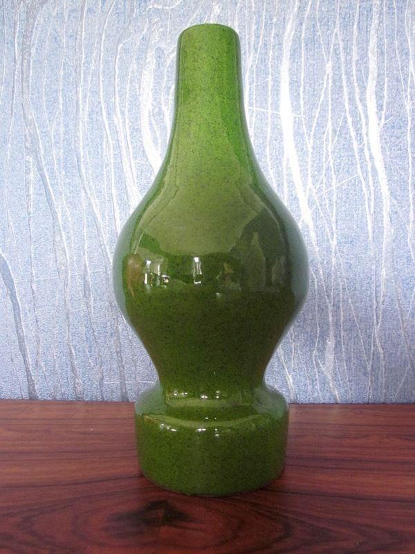 Rhein Ruhr Keramik vase RRK Karl Hoksch WGP Germany mid-century lava 60s