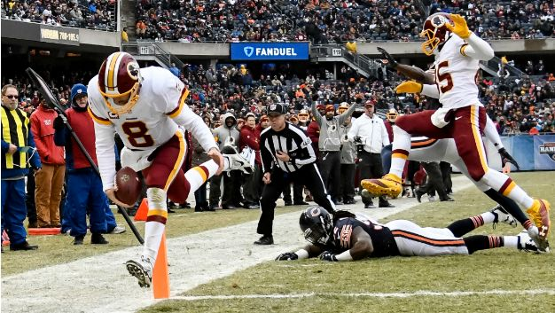 Jay Gruden tipped Kirk Cousins off before career rushing day