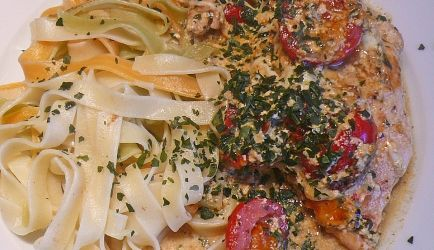 Malse Kipfilet In Romige Italiaanse Saus recept