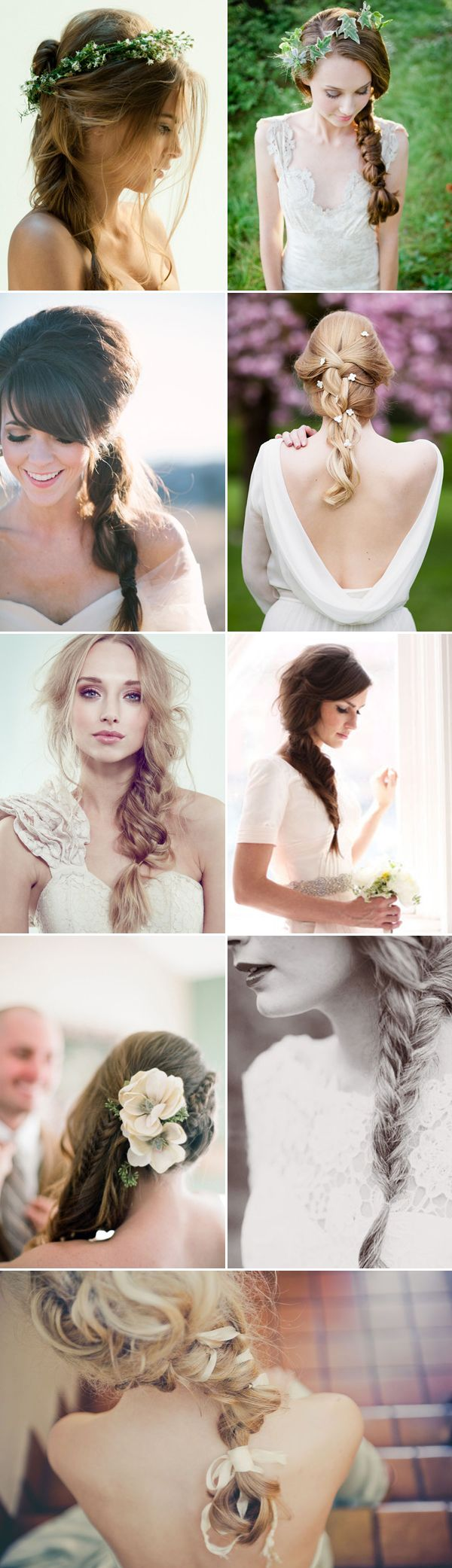 best wedding hairdo images on pinterest bridal hairstyles