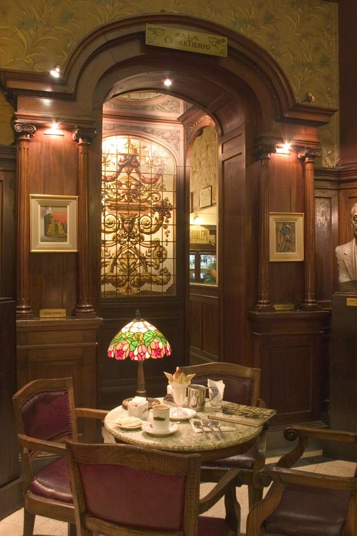Fotos, imágenes del Café Tortoni, Buenos Aires, Argentina