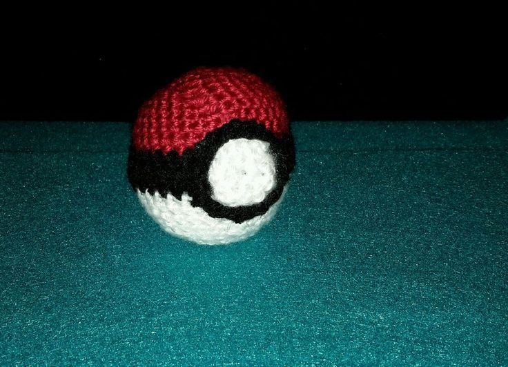 Catch your favorite pokemon with this handmade crochet pokeball. Made in a home with pets, and made with love. 💖 | eBay!