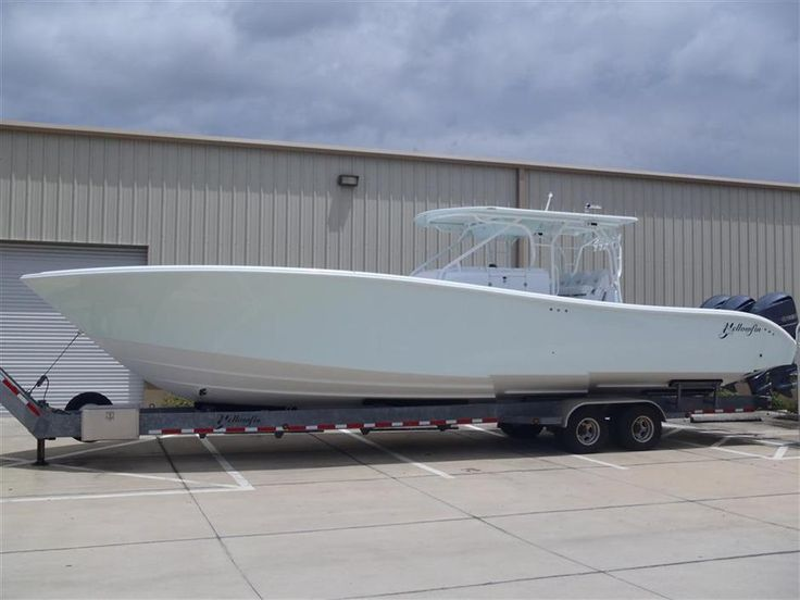 Pre-Owned 42', 36', and 32' #Yellowfin #Yachts For #Sale