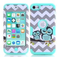 Wish   iPod Touch 6 Case , iPod Touch 5 Case, Slim Heavy Duty Armor Defender Protective Cover for iPod Touch 5 6th Generation