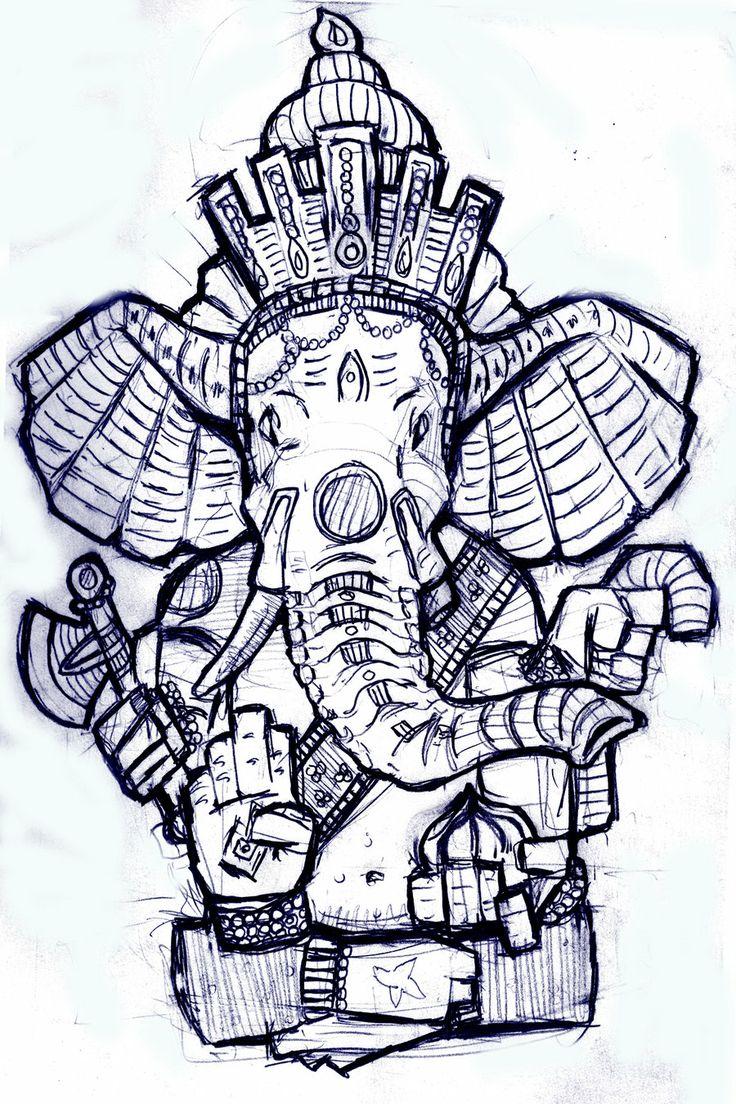 11 ganesha tattoo designs ideas and samples - Ganesha By On Deviantart