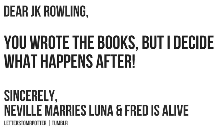 I was very sad to see Luna and Neville did not windup together. :/