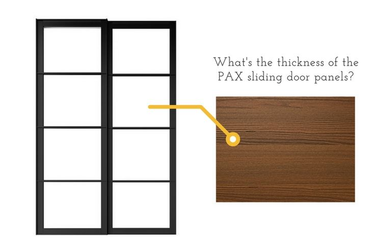 Hackers Help: Thickness of the sliding door panels? - IKEA Hackers http://www.ikeahackers.net/2017/07/sliding-door-panels-thickness.html?utm_campaign=crowdfire&utm_content=crowdfire&utm_medium=social&utm_source=pinterest