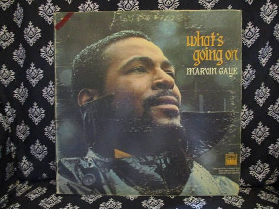 What's Going On Marvin Gaye Record LP Album
