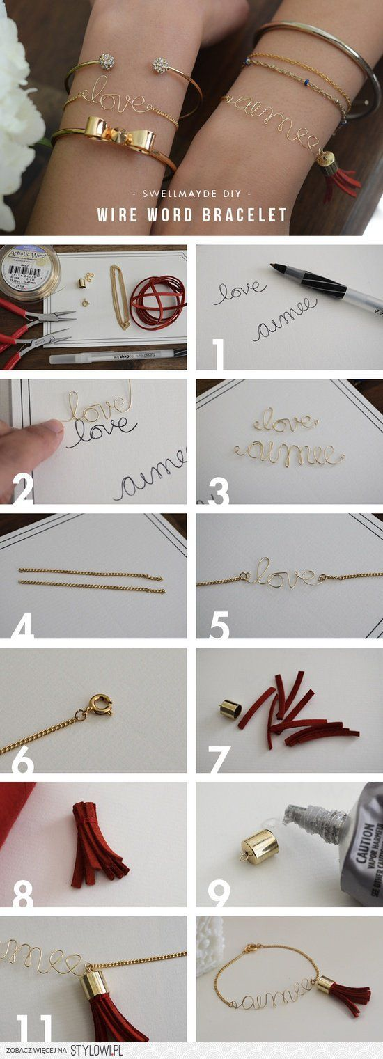 #diy #bracelet #love
