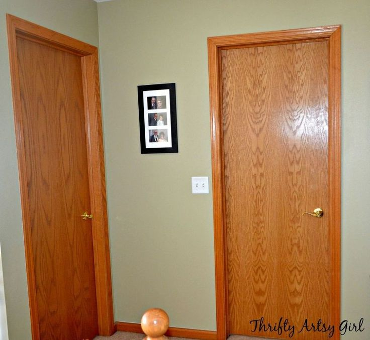 How To Prepare Wood Trim For A Smooth Wood Paint Job: Best 25+ Slab Doors Ideas On Pinterest