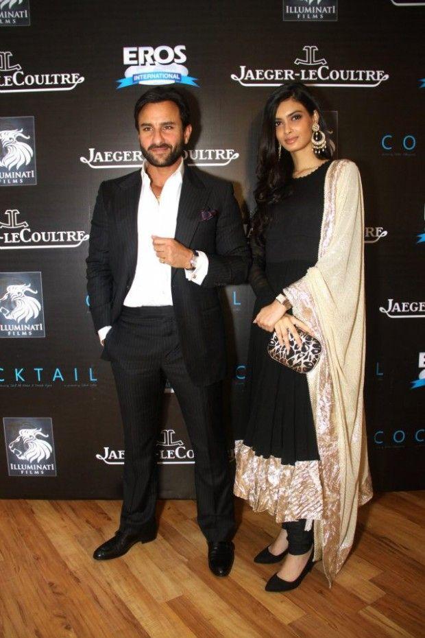 #Saif Ali Khan and #Diana Penty wearing #Jaeger-LeCoultre