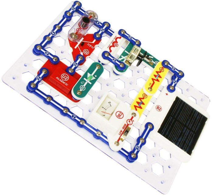 49% off Snap Circuits Extreme Electronics Discovery Kit, For Kids - Deal Alert