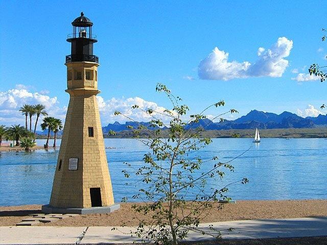 one of the Light Houses. Lake Havasu City