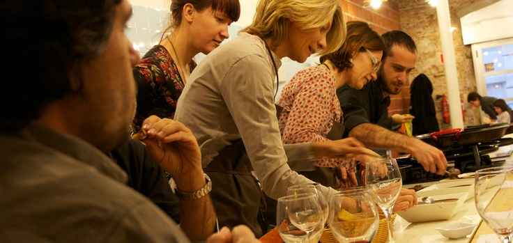 cooking class at Cook&Taste Barcelona