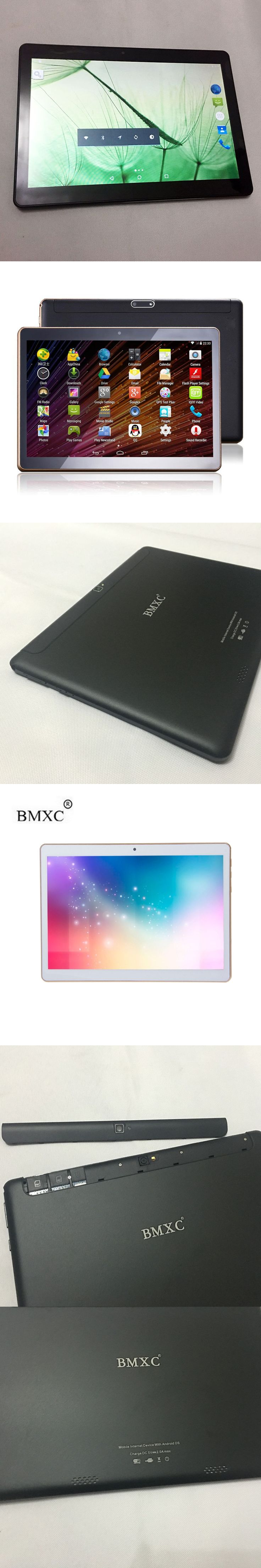 """2017 Newest 10 inch Tablet PC Octa Core Dual SIM Android 6.0 1920*1200 GPS Tablet PC 10"""" +Gift Brand BMXC"""