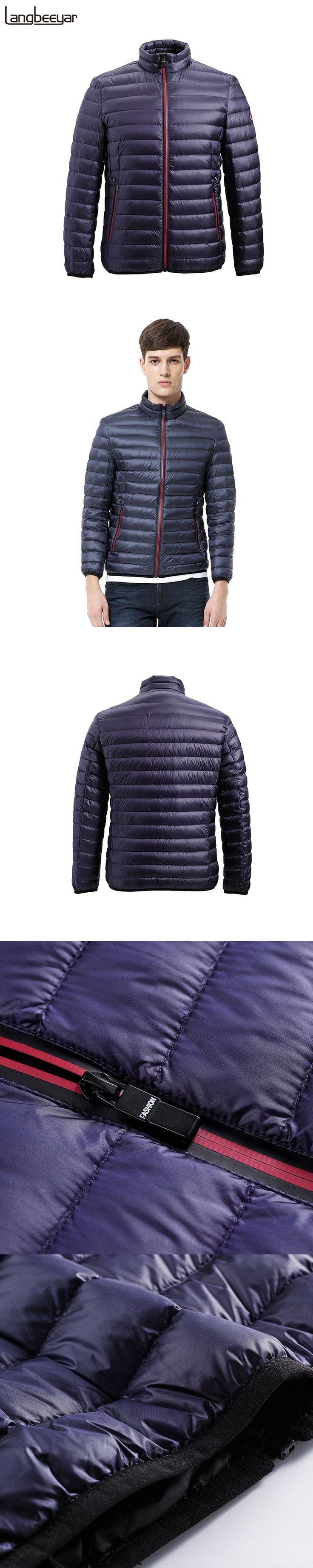 New Fashion Brand Clothing Men Down Jacket Men Winter Stand Collar Short Men Jacket Winter Parka Senior Mens Jackets And Coats