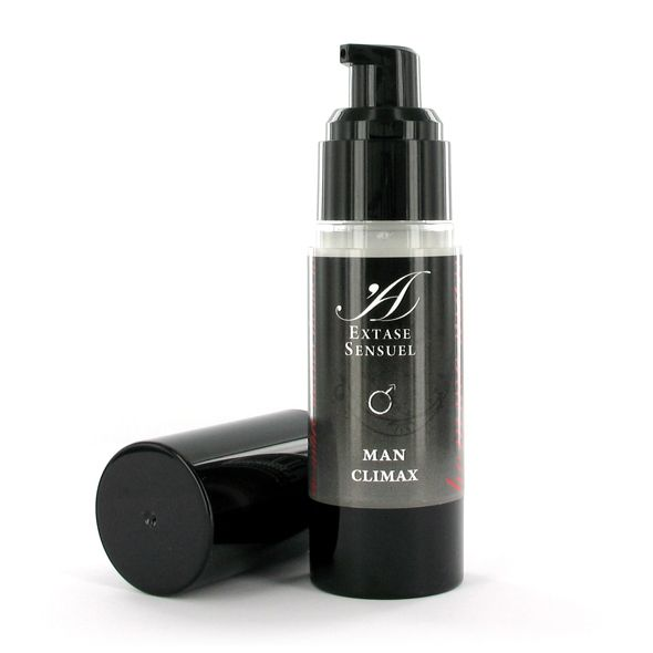 For an intense sensual massage for him. Man Climax gives a pleasant sensation of hot and cold. For personal use or with partner. Ideal for prolonging pleasure and to reach new heights when climaxing. For external application.Content: 30 ml