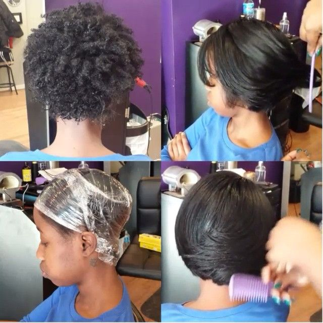 STYLIST FEATURE| Love this natural hair #transformation by #PhillyStylist @SoShearGenius After pressing the hair, she wrapped it with a layer of Saran Wrap (to trap the heat and help the style set better), for 10+mins So dope and full of body #VoiceOfHair ========================= Go to VoiceOfHair.com ========================= Find hairstyles and hair tips! =========================