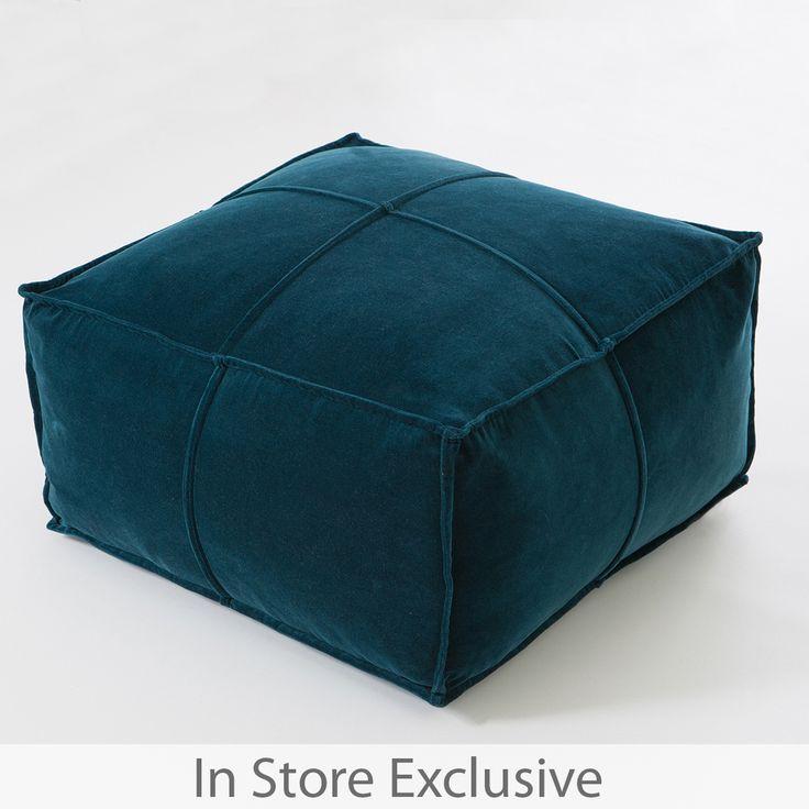 Bailey Velvet Pouf Pillow Talk