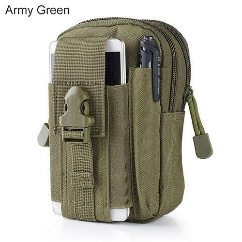 """Outdoor Military Tactical Holster Waist Belt Bag Pouch Phone Case For iPhone 7 Plus 7s 6 5 Xiaomi Huawei p8 Samsung Galaxy 5.5"""""""