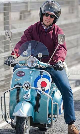 1961 vespa 150 cool as ....