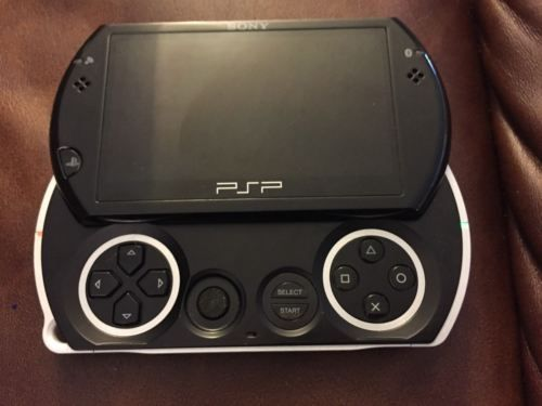 290a6f84fa1a Sony PSP GO Black 16GB Black CFW PSPgo 6.61 preloaded games 2gb ...
