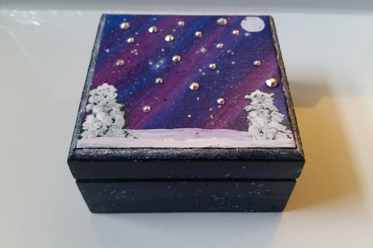 Excited to share the latest addition to my #etsy shop: Northern Lights Jewelry Box - Aurora Jewelry Box - Galaxy Jewelry Box - Galaxy Box - Aurora Keepsake Box - Aurora Box - Swarovski Crystals - http://etsy.me/2j4SPdA #art #northernlights #jewelrybox #auroraborealis #