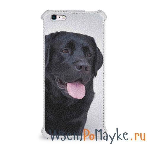 Чехол для Apple iPhone 6Plus/6SPlus flip Черный лабрадор купить в интернет магазине WsemPoMayke.Ru http://wsempomayke.ru/product/case_flip_iphone_66splus/1062703  Доставка по России курьером или почтой, оплата при получении. Посмотреть размеры и цену > http://wsempomayke.ru/product/case_flip_iphone_66splus/1062703