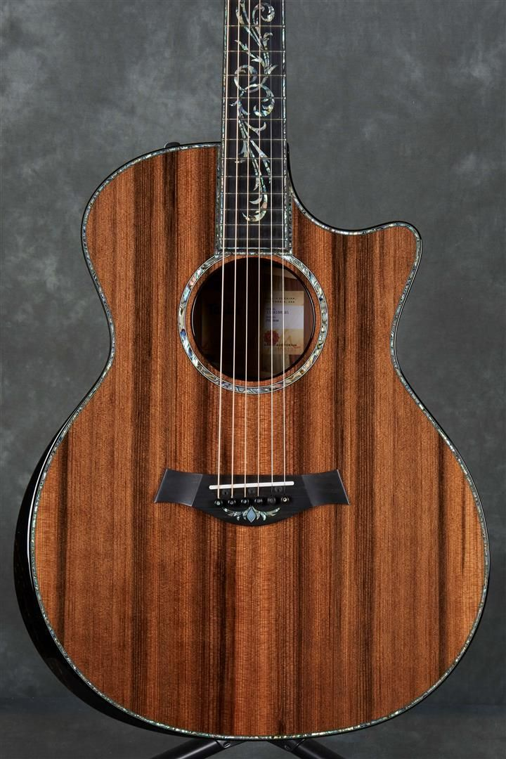 The New Taylor Ps14ce With V Class Bracing Available Now From An Authorised Taylor Guitar Deale Taylor Guitars Acoustic Acoustic Guitar Electro Acoustic Guitar