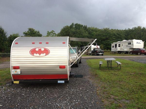 15′ Riverside Retro 155 travel trailer (pinned by haw-creek.com)