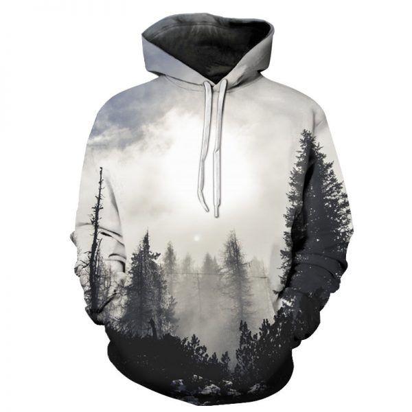 Skull Fading 3D Print Mens Womens Hoodie Sweatshirt Pullover Jumper Hooded Coat