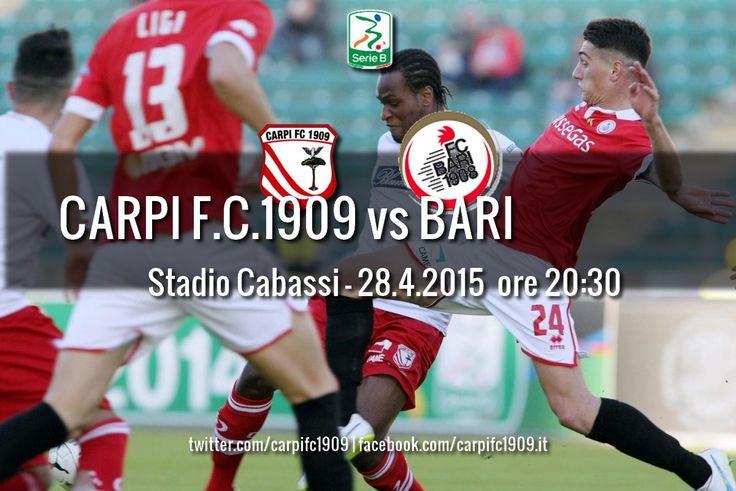 Carpi FC 1909 » CARPI-BARI, VIA ALLA PREVENDITA!