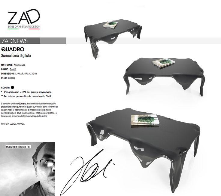 QUADRO del 07-01-2016, Designer: Maurizio Poli
