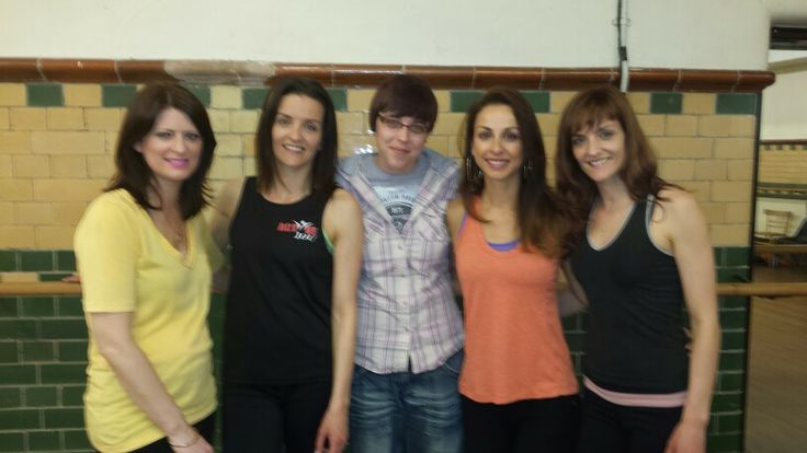B*witched at dance studio